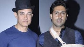 Dhoom 3 - Aamir, Abhishek at 'Dhoom 3' Trailer Launch | Hindi Movie | Katrina, Uday Chopra, Vijay Krishna