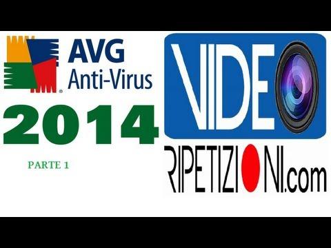 AVG 2014 ANTIVIRUS: 01 INSTALLAZIONE E PANORAMICA COMPLETA IN ITALIANO #VIDEORIPETIZIONI ITA