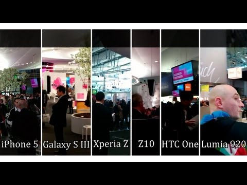 Сравнение камер iPhone 5, SGS III, Xperia Z, BB Z10, HTC One и Lumia 920