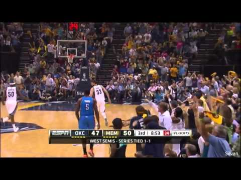 Marc Gasol 20 Points vs Oklahoma City Thunder (SFG3) - Full Highlights 11/05/2013
