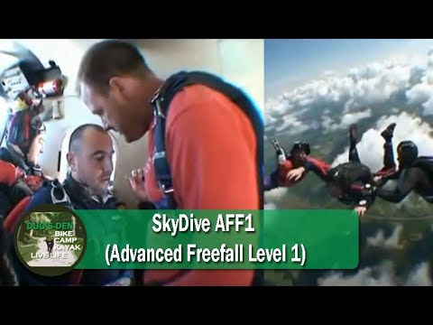 SkyDive AFF1 (Advanced Freefall Level 1)