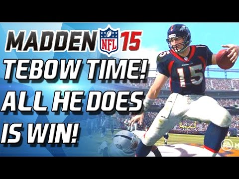 TEBOW TIME! FOOTBALL JESUS ALL HE DOES IS WIN! - Madden 15 Ultimate team