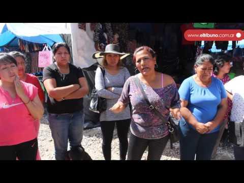 Feriantes se quejaron por el traslado al Complejo Sandoval