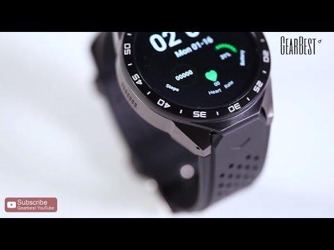 KingWear KW88 3G Smartwatch Phone - Gearbest