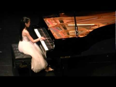 Young Stars Festival. 10 yrs. old Claire Liu plays Glinka-Balakirev The Lark