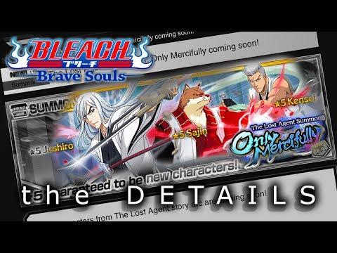 [Bleach Brave Souls] Details for the JUSHIRO, SAJIN, KENSEI Banner!