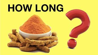 How Long Does It Take For Turmeric To Work? Best Turmeric / Curcumin Capsules Dosage