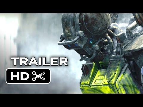 Chappie Official Trailer #2 (2015) - Hugh Jackman, Sigourney Weaver Robot Movie Hd video
