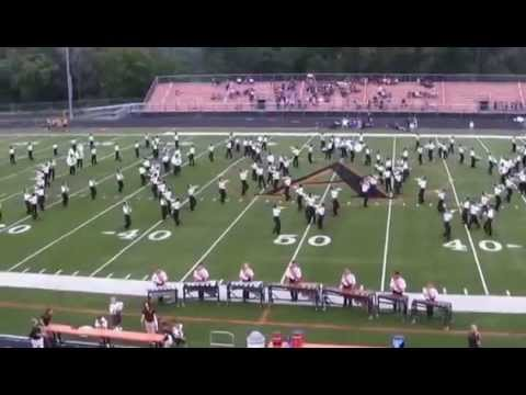 Ames High School Band August 29, 2014