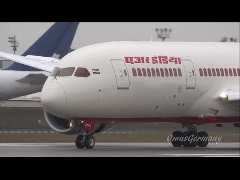 1st Landing of Air India VT-ANA Boeing 787 Dreamliner Test Flight @ KPAE