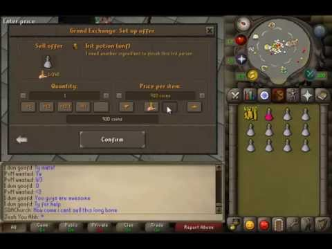 Make Money In Old School Runescape with Herblore!!! (600k+ an hour!!)