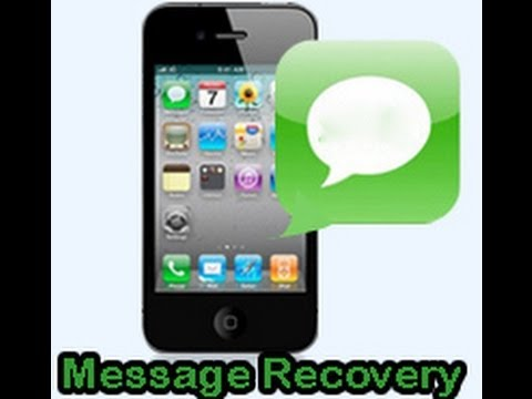 How to retrieve deleted text messages from iPhone 5S/5C/5/4S/4/3GS