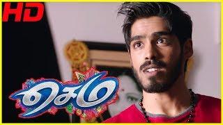 Sema Tamil Movie Scenes | GV Prakash and Arthana fall in love | Yogi Babu Comedy