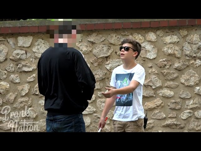 Would You Steal From A Blind 12 Year Old? - SOCIAL EXPERIMENT 2016