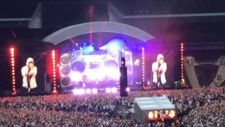 Eminem Video - Eminem at Wembley Stadium 12 July 2014