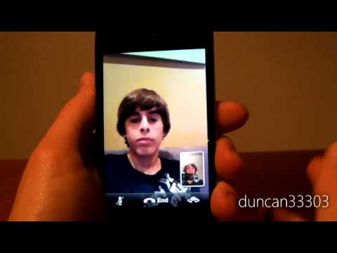 FaceTime on the iPod touch 4G