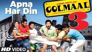 "download lagu ""apna Har Din Aise Jiyo  Golmaal 3"" Full gratis"