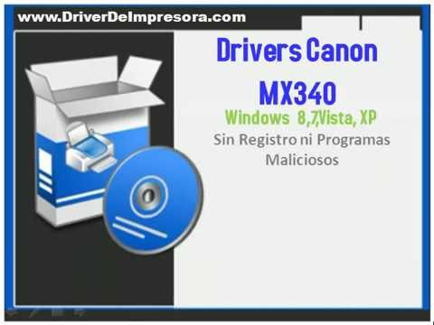 Descargar Canon MX340 Drivers Windows 8,8 1, 7, Vista, XP