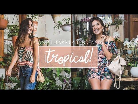 4 formas fáciles para usar la tendencia TROPICAL ??? #misstana
