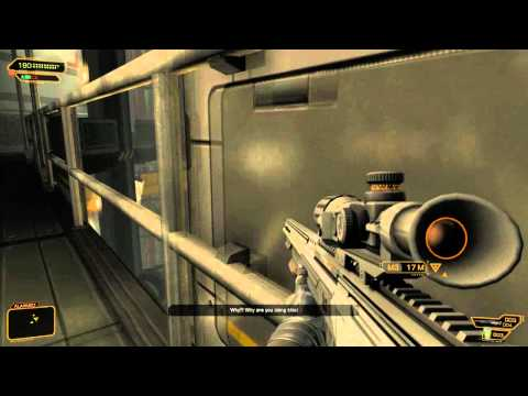 SAVE BOTH - THE PRISONERS AND THE SCIENTIST! Deus Ex Human Revolution The Missing Link