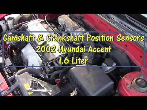How to Replace Camshaft & Crankshaft Position Sensors on a 2002 Hyundai Accent by @GettinJunkDone