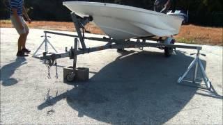 Scaffoldmart's Boat Lift/Trailer Removal System