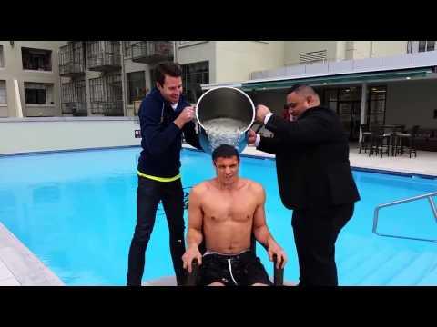 Dan Carter Ice Bucket Challenge