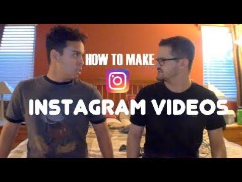 HOW TO MAKE INSTAGRAM VIDEOS | Step by Step TUTORIAL [v]