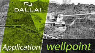 Dewatering system - Wellpoint  system - Dallai
