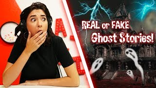 REAL or FAKE Creepy Haunted Ghost Stories!