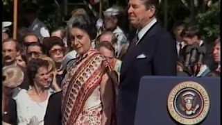 President Reagan's Remarks at Prime Minister Gandhi of India State Visit on July 29, 1982