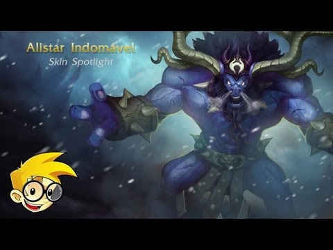 League of Legends Skin Spotlight - Alistar Indomável