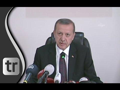 Erste Worte von Erdogan in SOMA nach Grubenunglück [DEUTSCH] 14. Mai 2014 Rede Untertitel