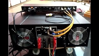 """ONLY 1 POWER AMPLIFIER LEFT CHANNEL 