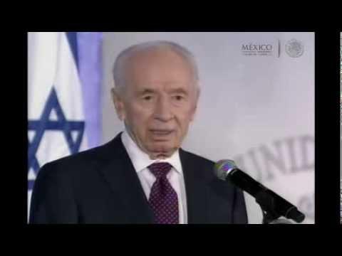 Cena en Honor del Excmo. Señor Shimon Peres, Presidente del Estado de Israel