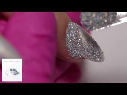 Efekt Holo Silver :: Efekt Hologramu Na Paznokciach Indigo Nails :: Effect Holo Silver