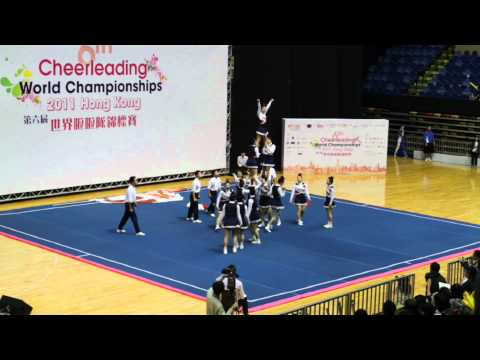 Cheer World Championships 2011 - Japan All Girl