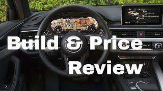 2018 Audi A4 Premium Plus Quattro Sedan - Build & Price Review: Technology, Design, Performance