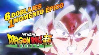 Gokú SSJ Blue - Dragon Ball Super Broly - 6 Doblajes 1 Momento Épico
