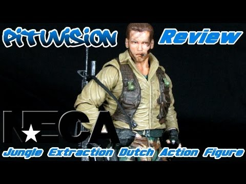 NECA Jungle Extraction Dutch Action Figure Review