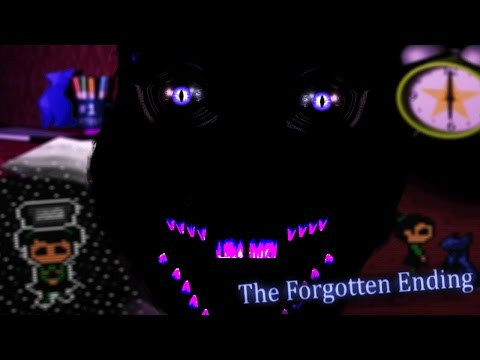 SECRET MONSTER ORIGAMI CAT || Five Nights at Candy's 3 Forgotten Ending (Five Nights at Freddys)