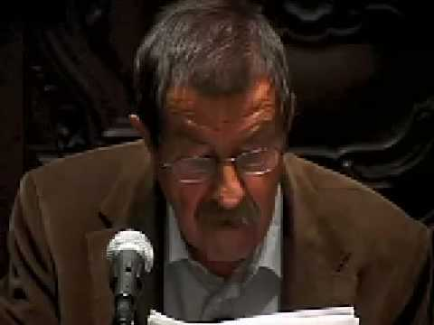 Günter Grass reads from Die Blechtrommel II