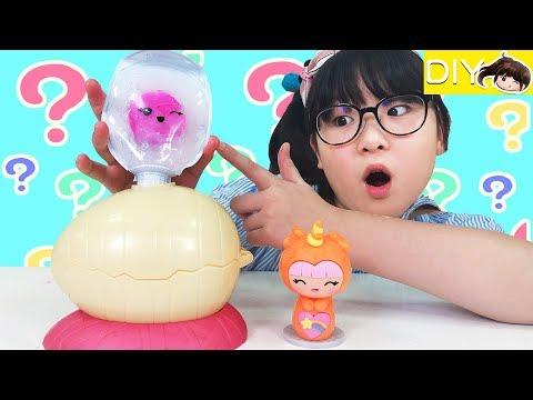 【DIY】這是什麼奇怪的蛋?軟軟公仔製造器[NyoNyoTV妞妞TV玩具]