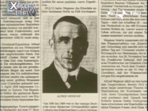 Alfred Wegener (biografia - parte 1/2)