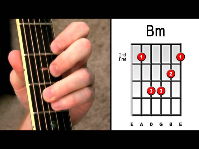 Unique Bm Guitar Chord Easy Photo Basic Guitar Chords For