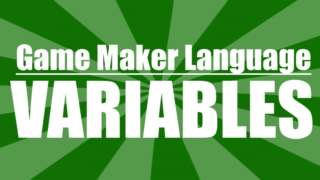 how to make a variable in gamemaker