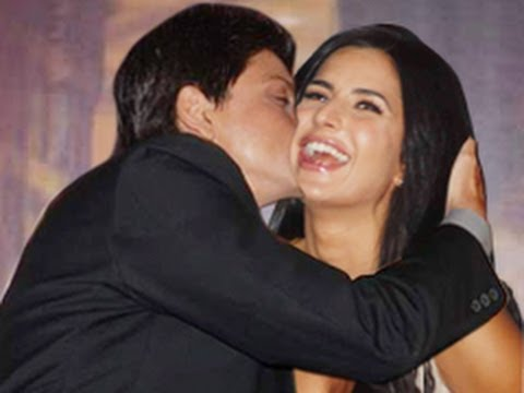 Shahrukh Khan Kisses Katrina Kaif video
