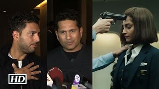 Neerja | Cricketers Reaction | Sachin Tendulkar & Yuvraj Singh