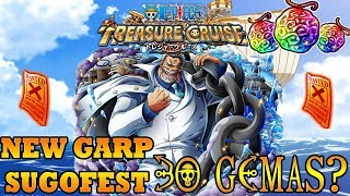NEW GARP SUGOFEST 130 GEMAS | One Piece Treasure Cruise GLOBAL