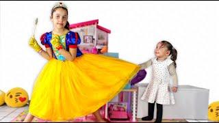Sarah and sister want the same dress